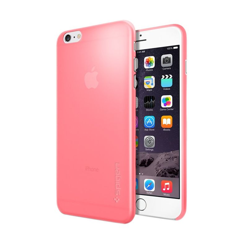 Spigen Airskin Pink Casing for iPhone 6 Plus