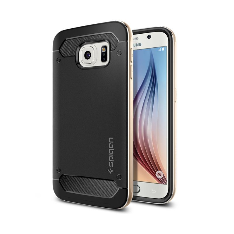 Spigen Neo Hybrid Champagne Gold for Casing Galaxy S6