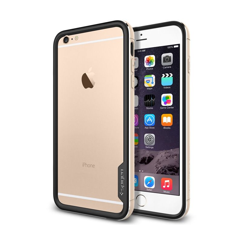 SPIGEN Neo Hybrid EX Metal iPhone 6 Plus Champagne Gold