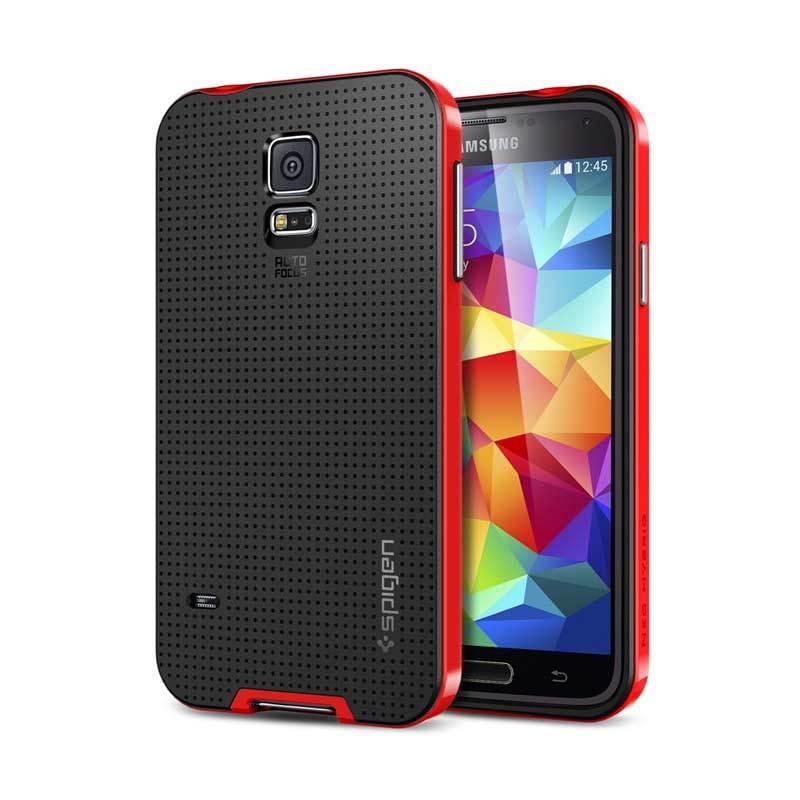 SPIGEN Neo Hybrid Galaxy S5 Dante Red