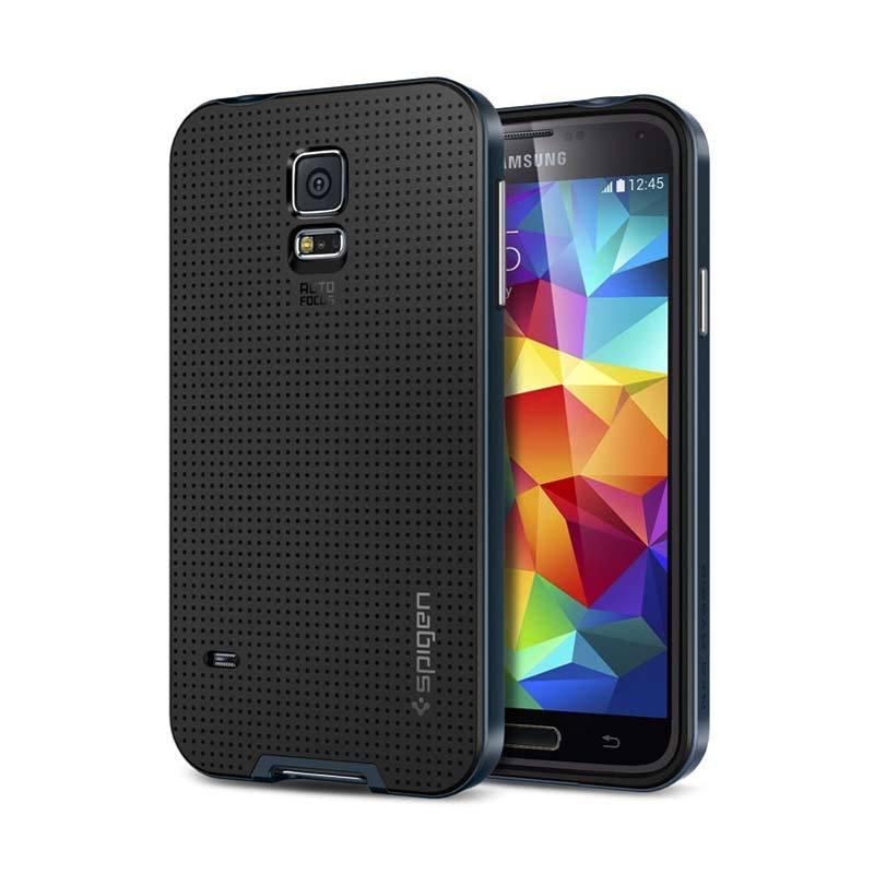 SPIGEN Neo Hybrid Galaxy S5 Metal Slate