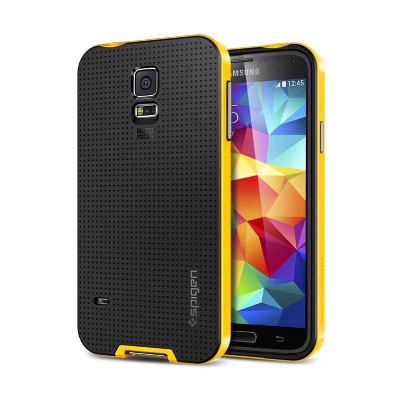 SPIGEN Neo Hybrid Galaxy S5 Reventon Yellow