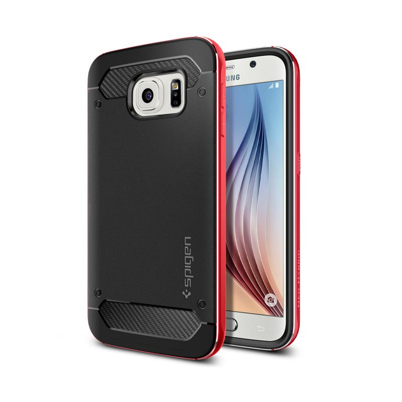 Spigen Neo Hybrid Metal Red Casing for Galaxy S6