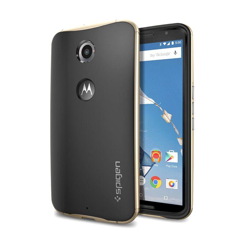 SPIGEN Neo Hybrid Nexus 6 Chamgpagne Gold