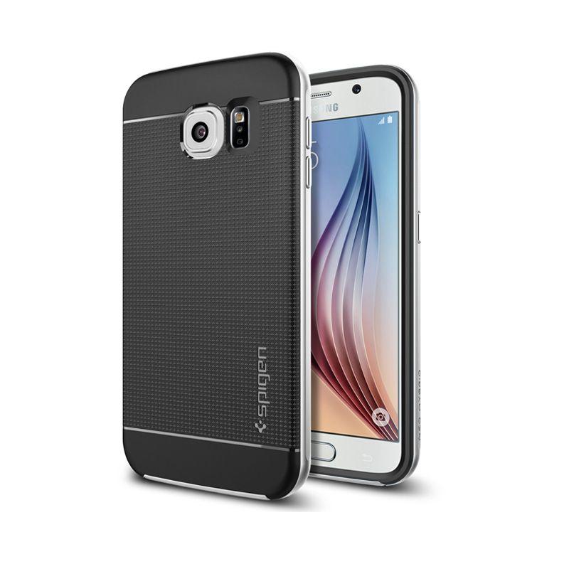 Spigen Neo Hybrid Satin Silver Casing for Galaxy S6