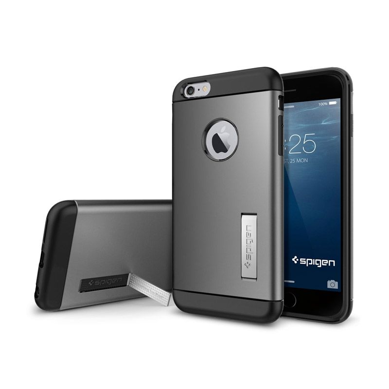 SPIGEN Slim Armor iPhone 6 Plus Gunmetal