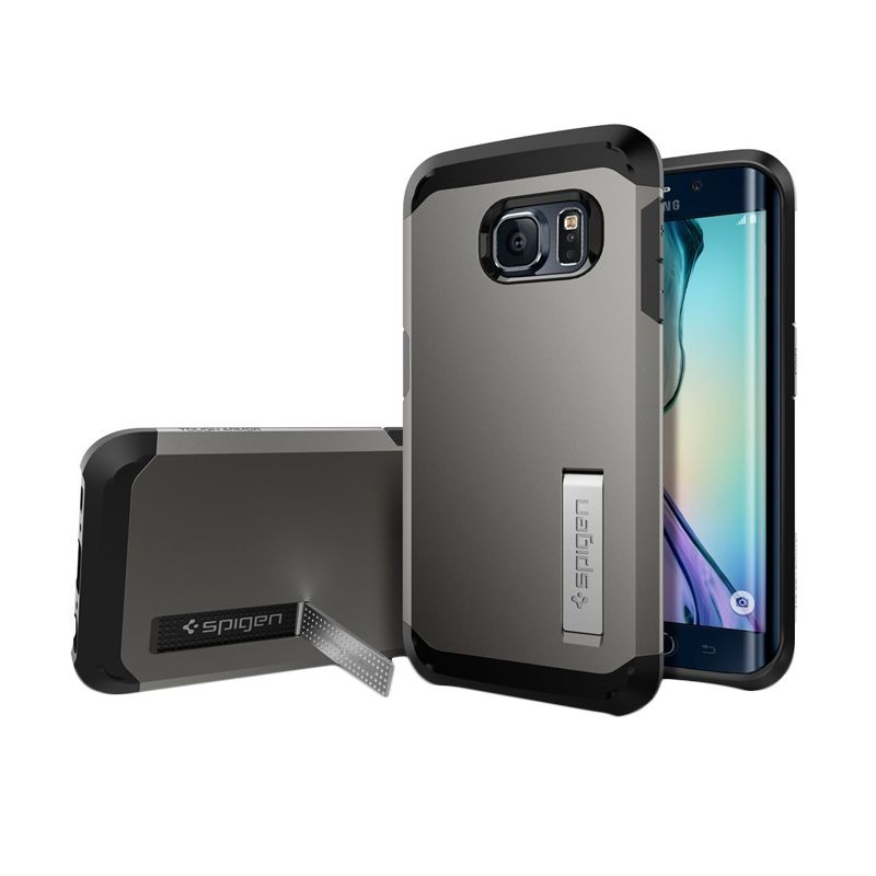 Spigen Tough Armor Gunmetal Casing for Galaxy S6 Edge