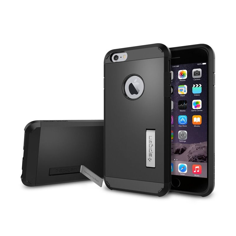 SPIGEN Tough Armor iPhone 6 Plus Smooth Black