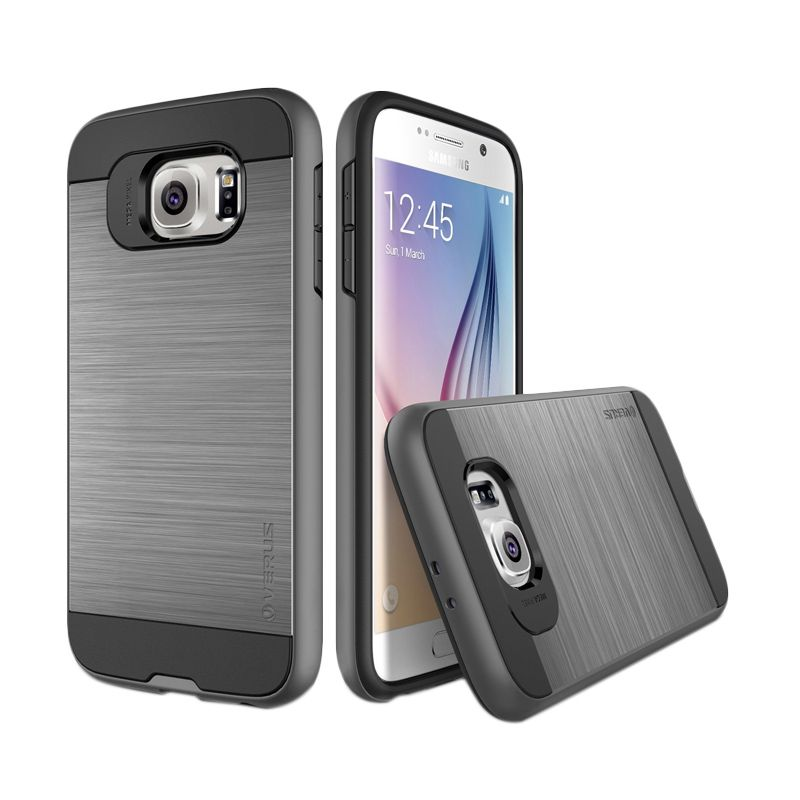 Verus Verge Dark Silver Casing for Galaxy S6
