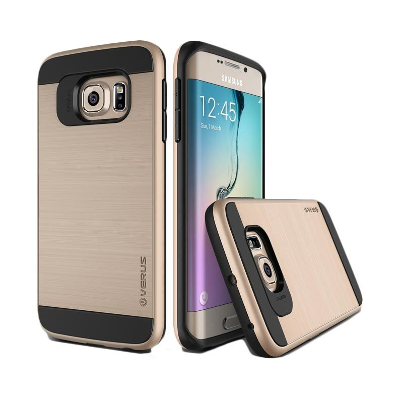 Verus Verge Edge Shine Gold Casing for Galaxy S6