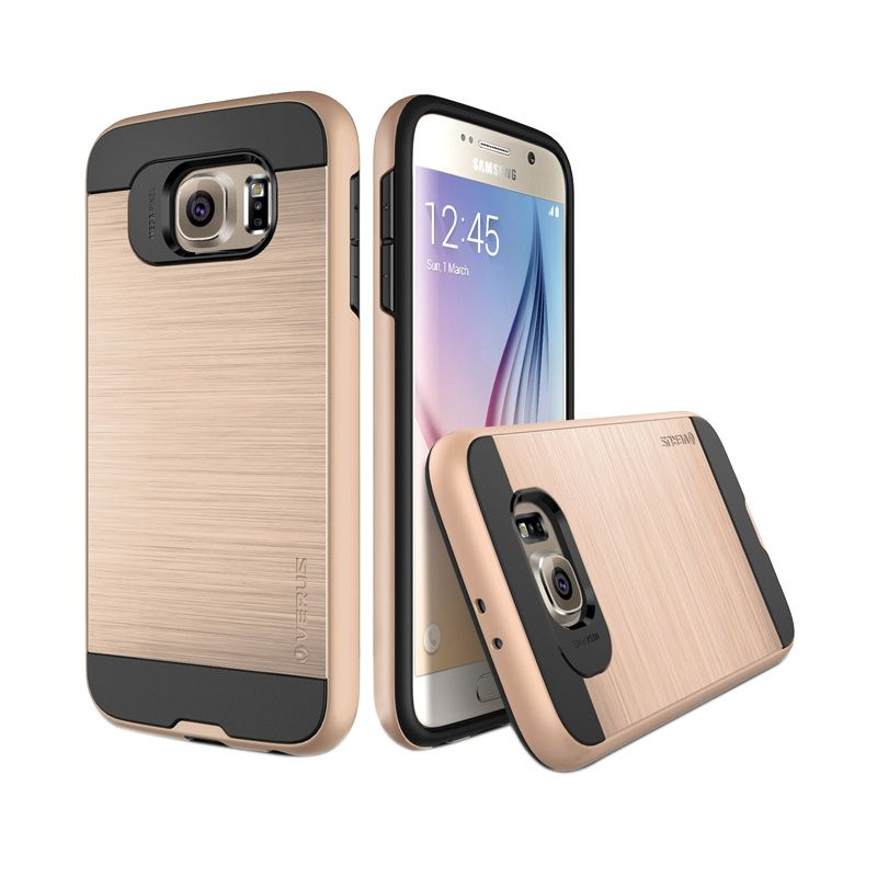 Verus Verge Shine Gold Casing for Galaxy S6