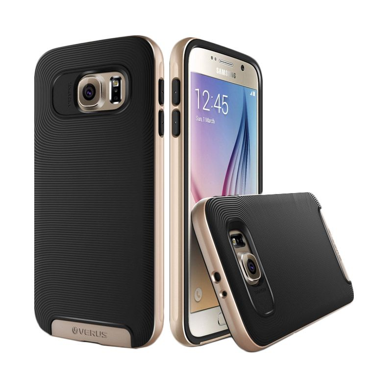 Verus Crucial Bumper Shine Gold Casing for Galaxy S6