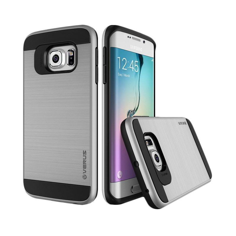 Verus Verge Edge Light Silver Casing for Galaxy S6