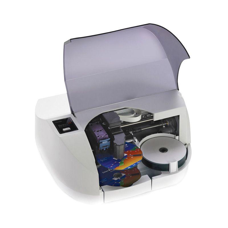Primera Bravo SE AutoPrinter [automated color inkjet printing at 4800 dpi]