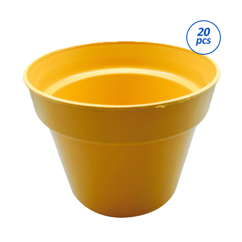 Primrose Pot Tanaman - Orange [20 pcs]