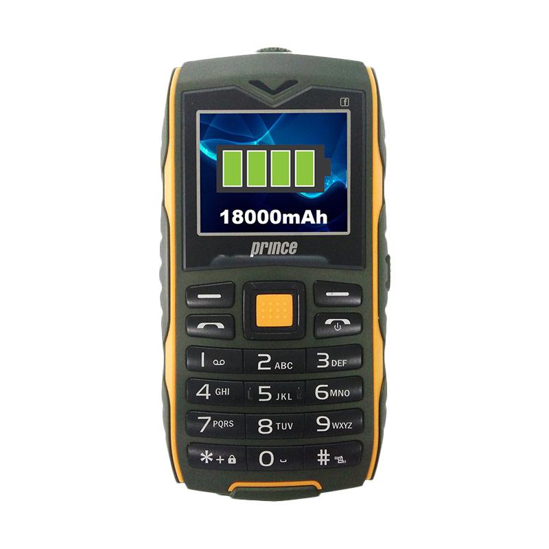 harga Rekomendasi Seller - Prince PC-3 Baterai Handphone - Hijau [18000 mAh/8GB micro SD] Blibli.com
