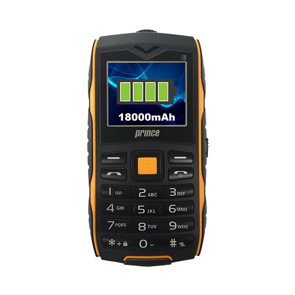 harga Prince PC-3 Baterai Handphone - Hitam [18000 mAh/8GB micro SD]