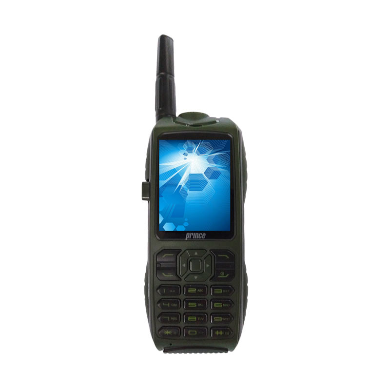 Prince PC-9000 Handphone - Hijau [Triple SIM/10000 mAh]