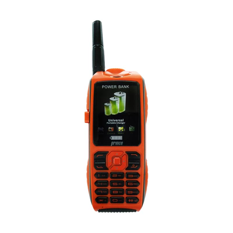harga Prince PC-9000 Handphone - Orange [Triple SIM/Baterai 10000 mAh] Blibli.com