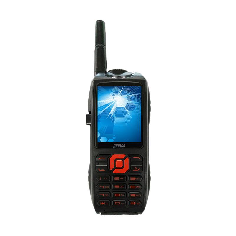 Prince PC-9000 Handphone [Triple SIM/10000 mAh] - Hitam