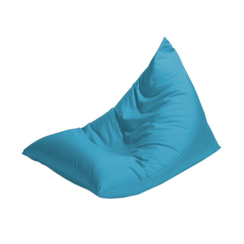 harga Prissilia Bean Bag Triangle Bantal Duduk - Blue Blibli.com