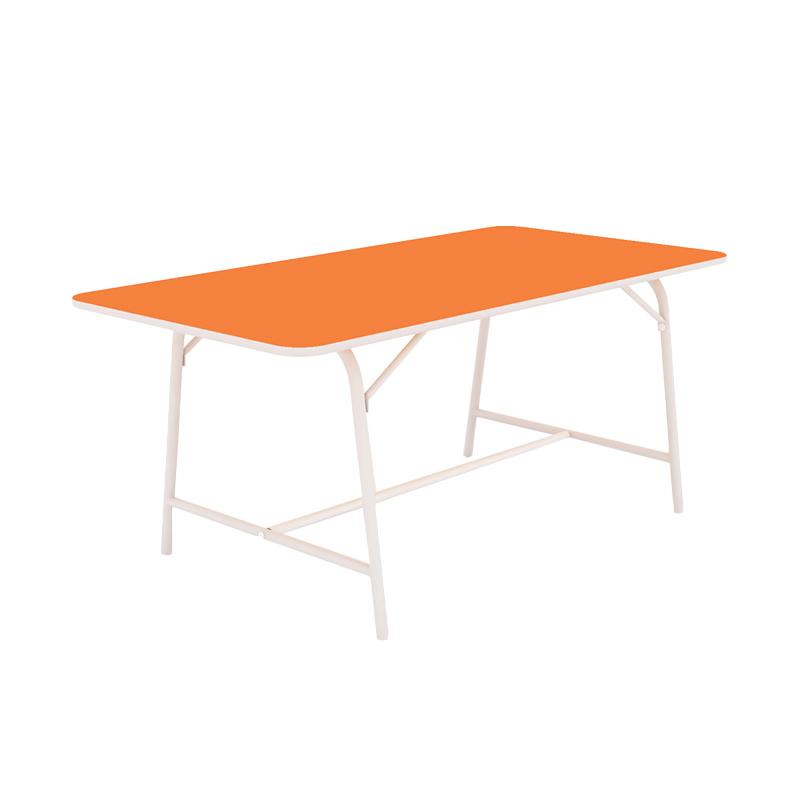 Prissilia Love Junior Study Desk Meja Belajar - Orange