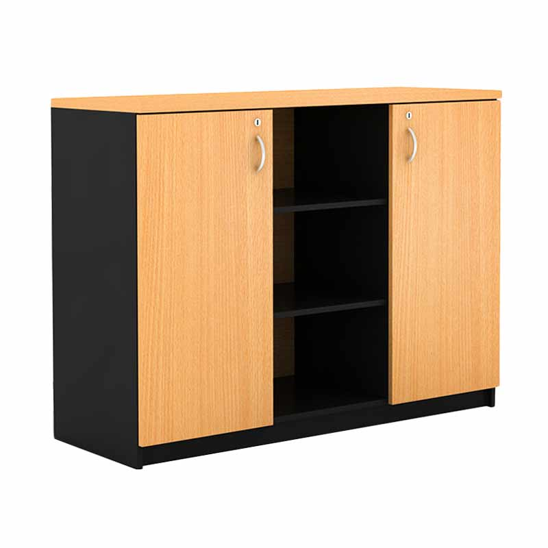 Prissilia Mortred 3 Space Beech Cabinet