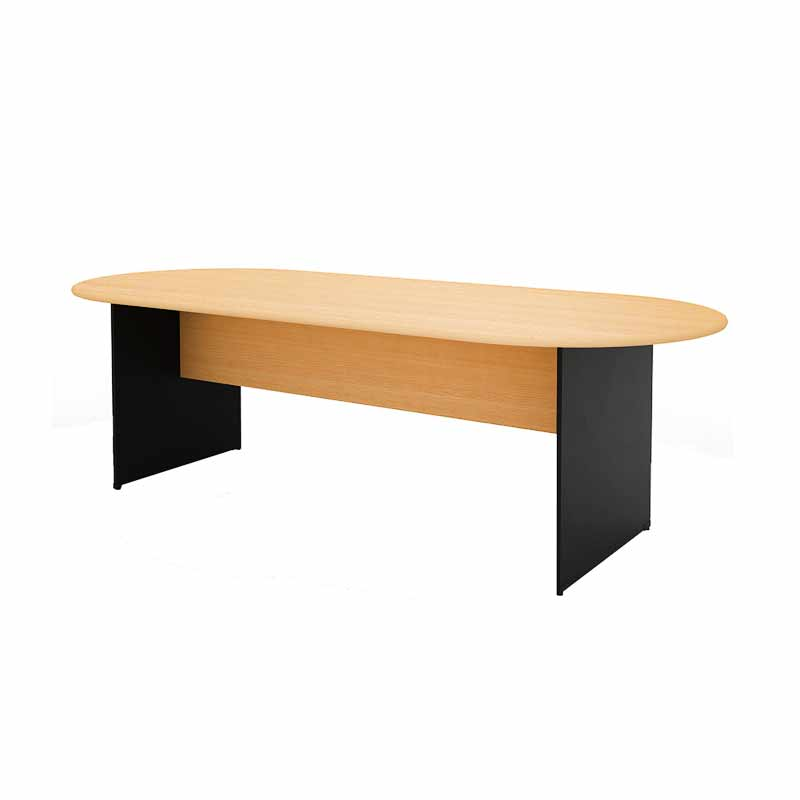 Prissilia Necro Conference Table 240 Beech Meja Kantor