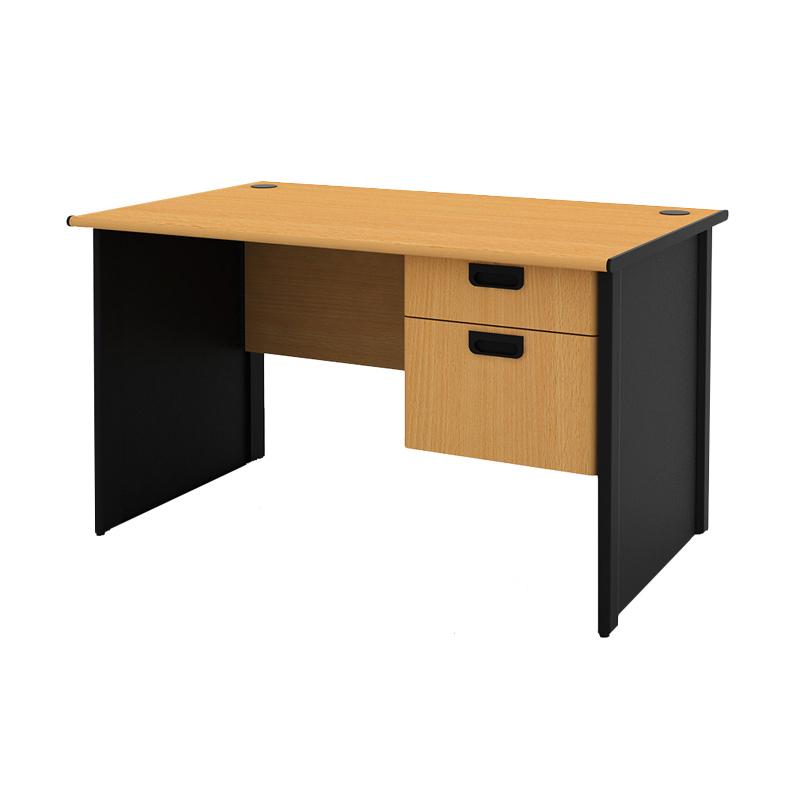 Prissilia Necro Office Desk 120 Meja Kantor [2 Laci]
