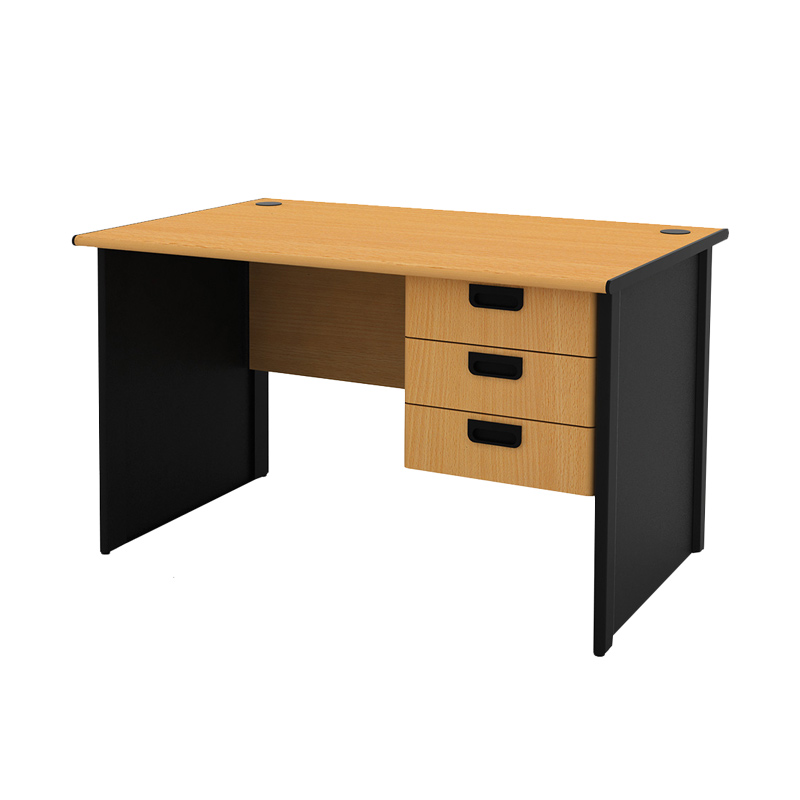 Prissilia Necro Office Desk 120 Meja Kantor [3 Laci]