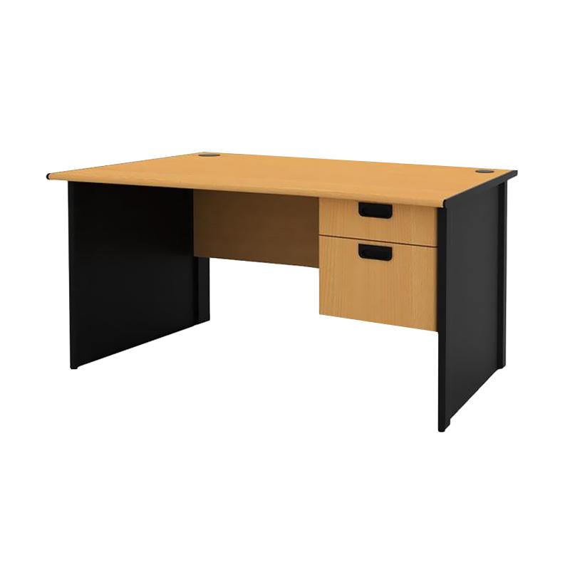 Prissilia Necro Office Desk 140 Meja Kantor [2 Laci]