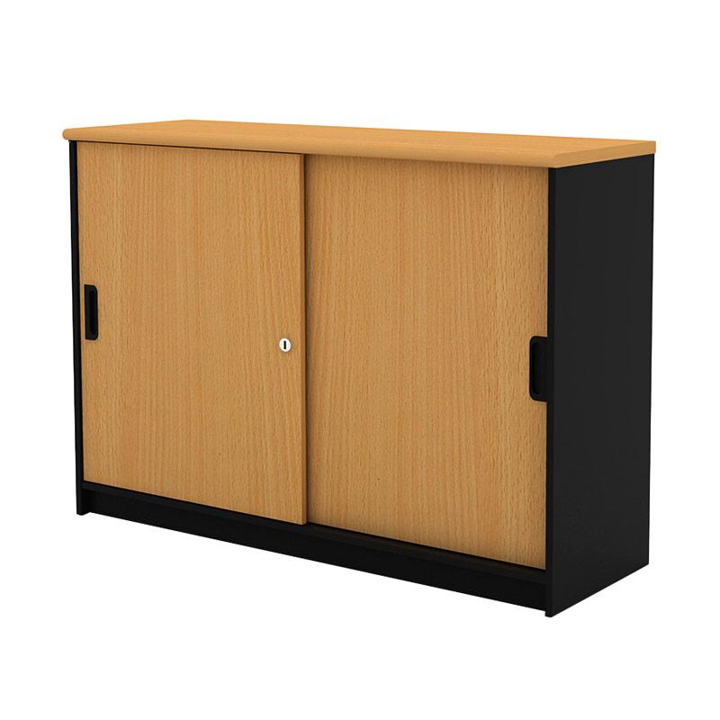 Prissilia Necro Sliding Cabinet L Beech Rak
