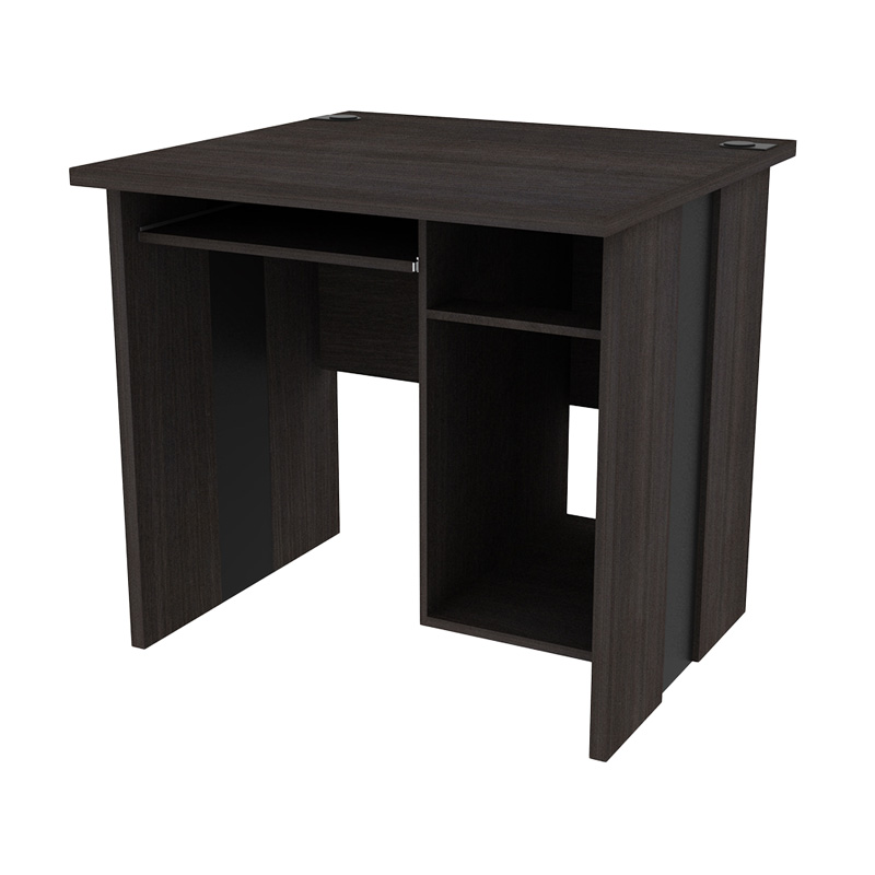 Prissilia Office Table Neun Meja Kantor - Dark Oak