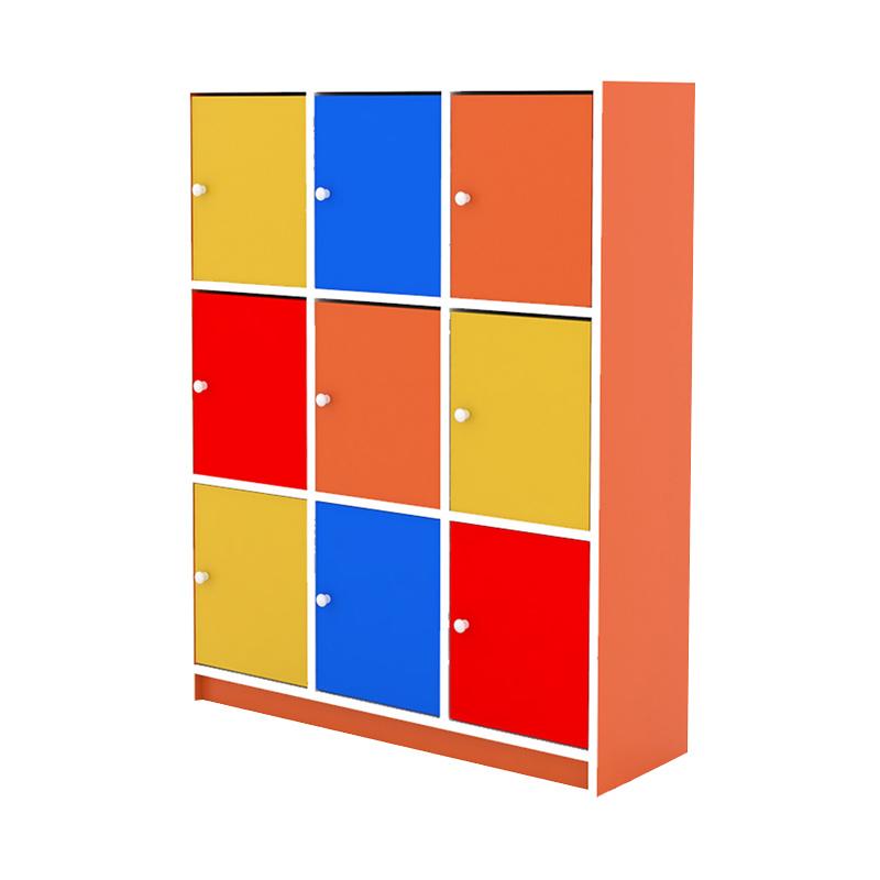 Prissilia Star Junior Bookcase Rak Buku - Orange