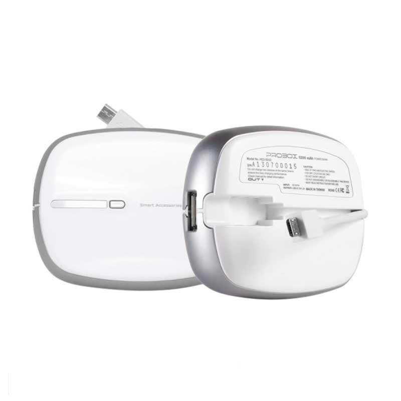 Probox MyPower Mini Powerbank - Putih [5200 mAh]