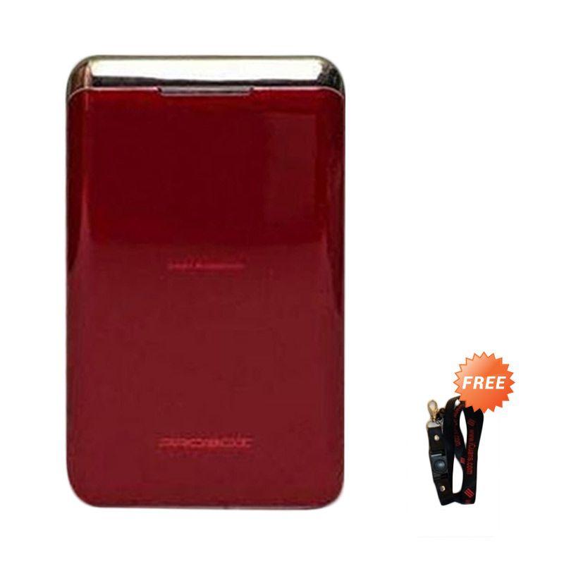 Probox HE1-78U2 Red Power Bank [7800 mAh] + Free Lanyard