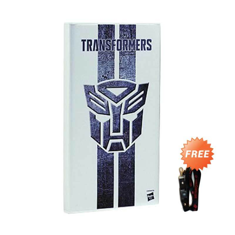Probox Transformer4 Logo White Power Bank [8000 mAh] + Free Lanyard