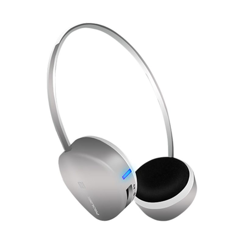PROLINK PHB6001E Fervor Basic Super-Slim Grey Bluetooth Stereo Headset