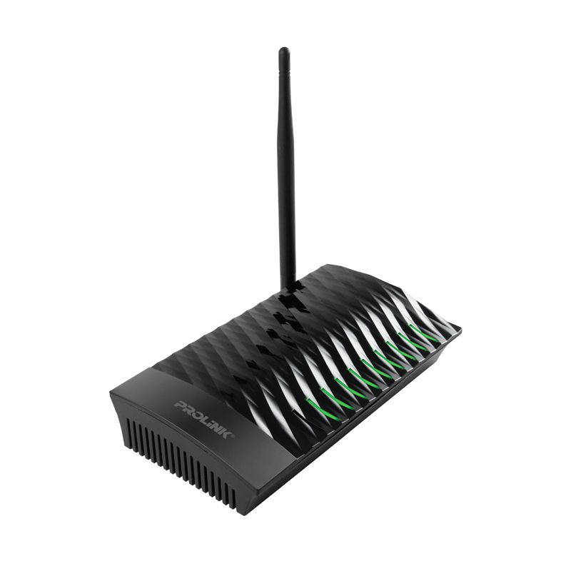 PROLINK PRN2001 Black Wireless-N Broadband AP/Router [150 Mbps]