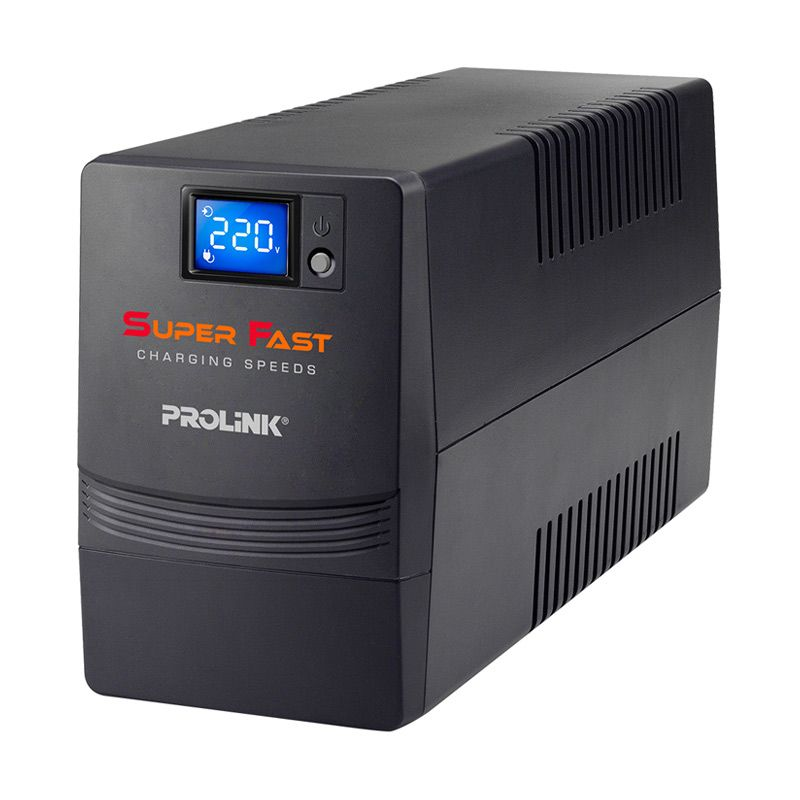 Prolink PRO700SFT Super Fast Charging Line Interactive with Touch Screen Panel [650VA]