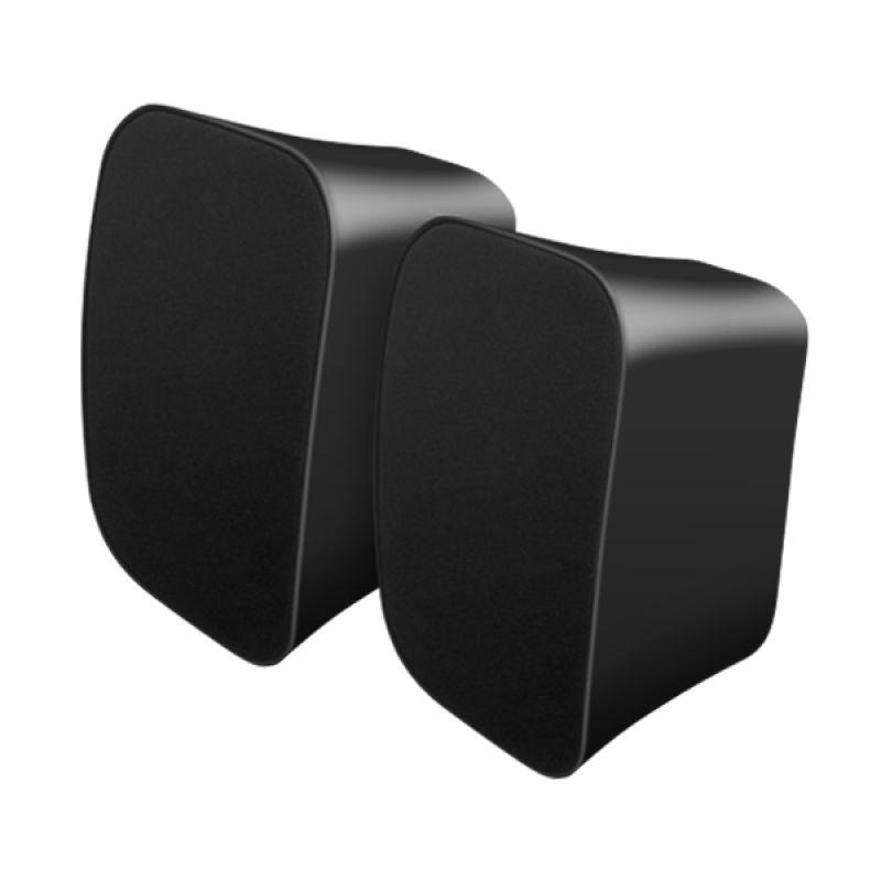 PROLINK PSC3701E Dual Speaker Kabel Musik Stereo (BLACK)