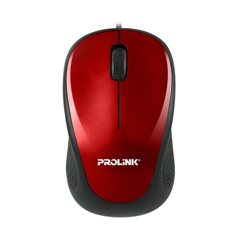 PROLINK PMO630U Red Optical Mouse