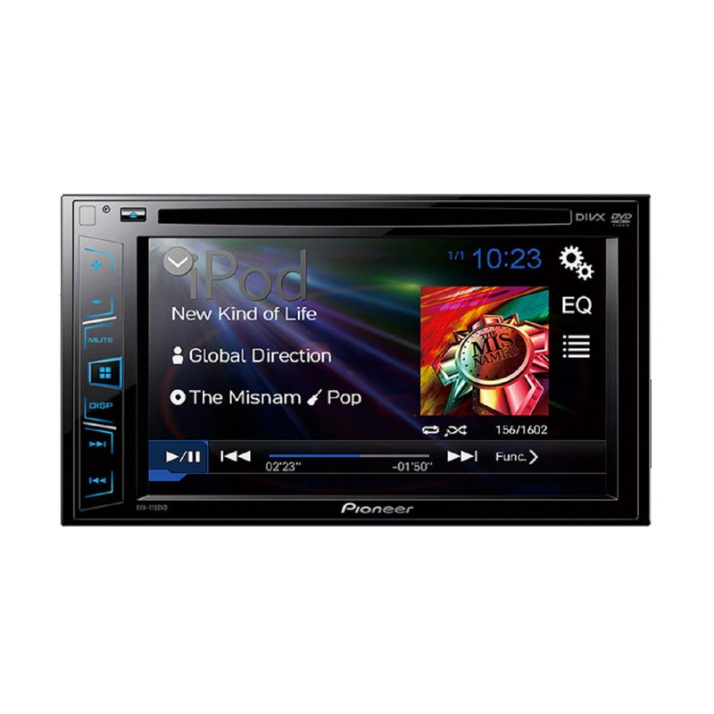 Pioneer AVH-175DVD Double Din Head Unit