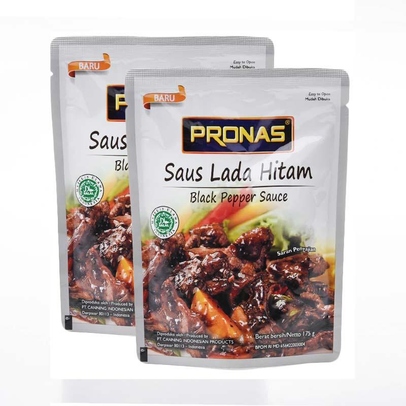 Pronas Black Pepper Sauce [175 g x 2 Pcs]