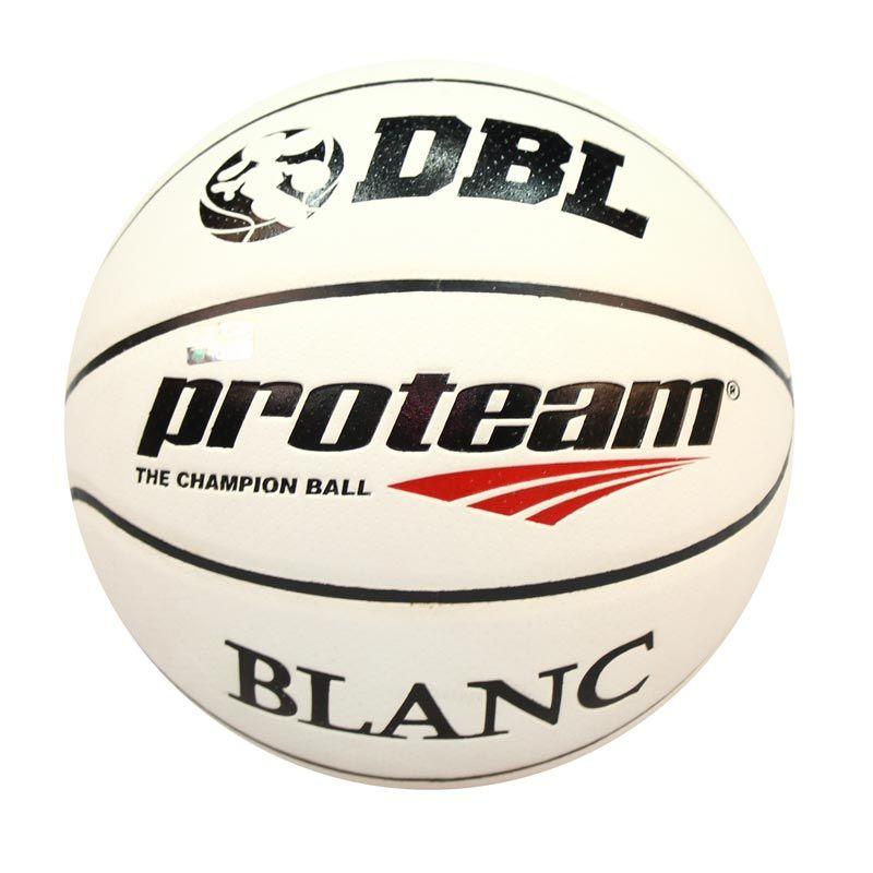 Proteam Blanc Putih Hitam Bola Basket