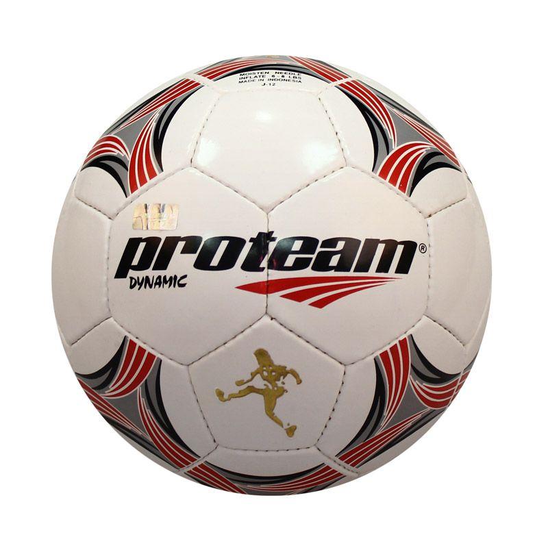Proteam Dynamic Red Black Bola Sepak # 5
