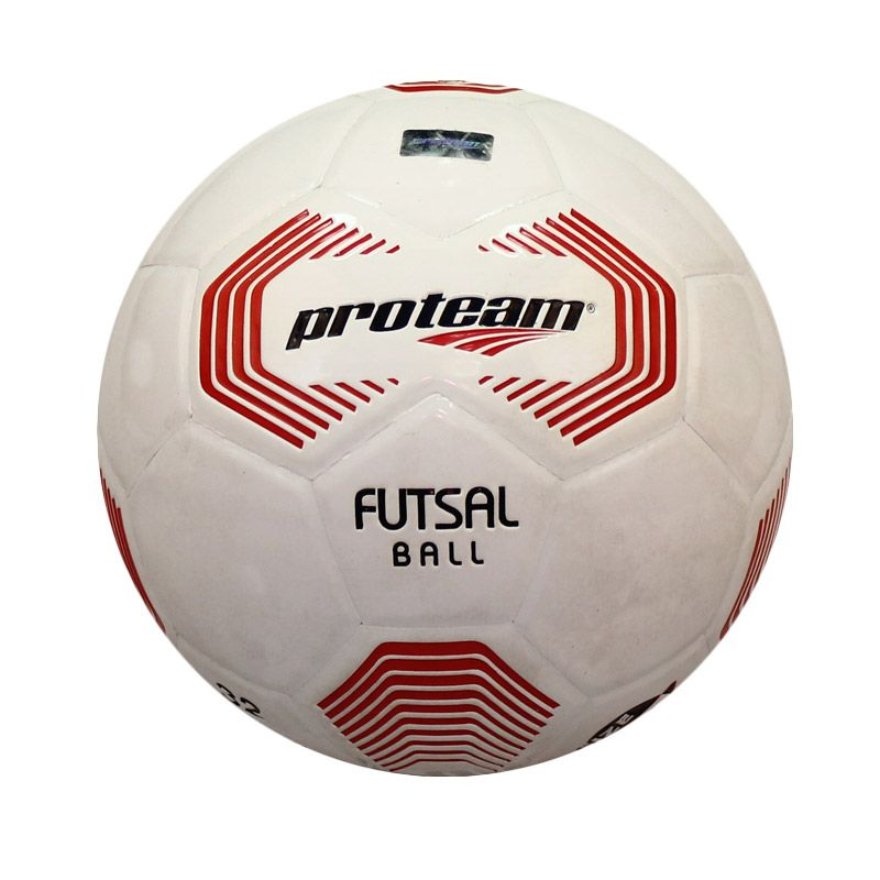 Proteam F 1000 Putih Merah Bola Futsal