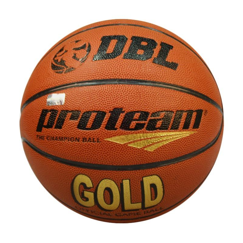 Proteam Gold Coklat Bola Basket Size 7