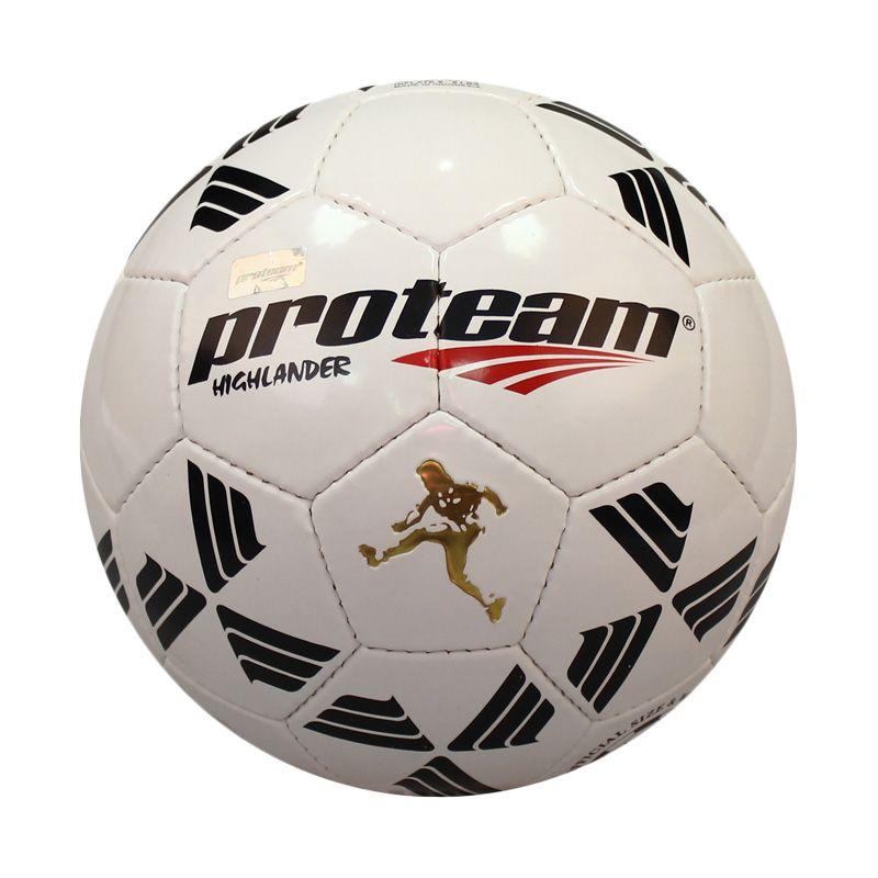 Proteam Highlander Putih Bola Sepak Size 4
