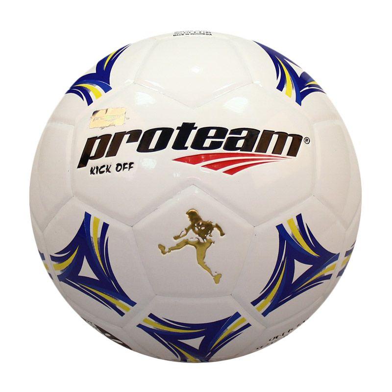 Proteam Kick Off Biru Kuning Bola Sepak Size 5